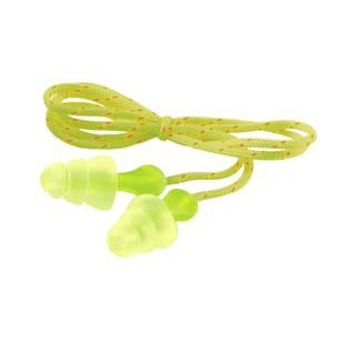 3M Tri-Flange Cloth Corded Earplugs