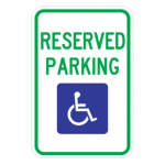Reserved Parking Sign | R7-8